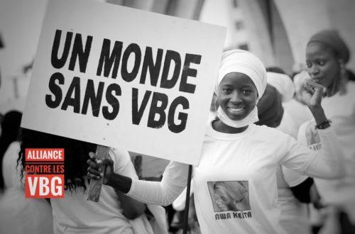 Article : Pour un monde sans VBG